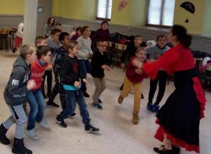 Residence drac st hippolyte 18 19 duende flamenco danser ses emotions ce2 cm1 4