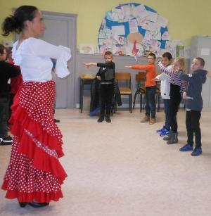 Residence drac st hippolyte 18 19 duende flamenco danser ses emotions ce2 cm1 5