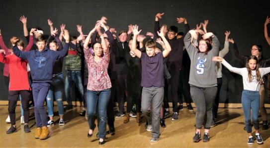 Residence duende flamenco au college bouvier st laurent