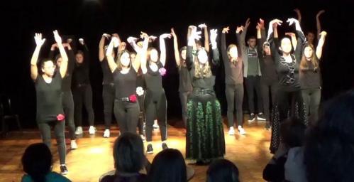 Residence lycee st claude flamenco et garcia lorca duende flamenco
