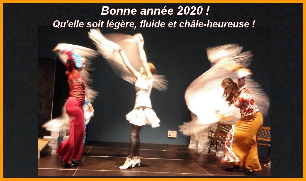 Voeux duende flamenco 2020