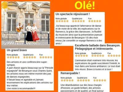 Voyage flamenco 2020 appreciations