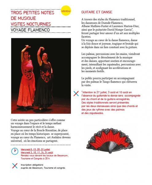 Voyage flamenco ete 2016 besancon