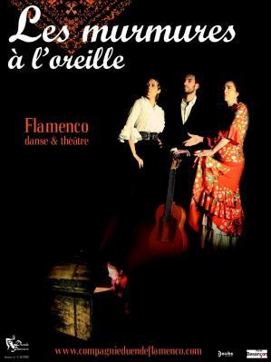 Web affiche les murmures a l oreille duende flamenco
